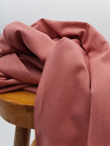 Katia Baumwollstoff Rustic Cotton Solid Rosa