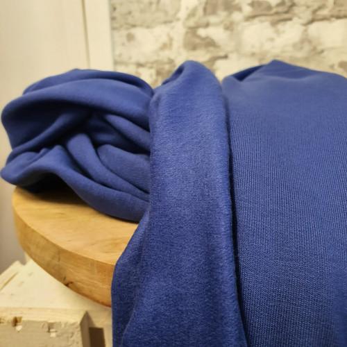 Viskose Sweat Royal Blau