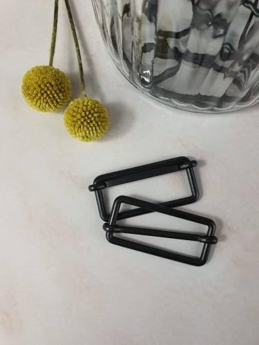 Leiterschnalle Schwarz 25/30/40 mm