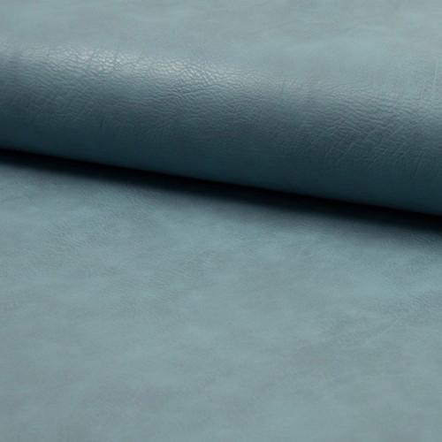 Kunstleder Elastisch Blaugrau