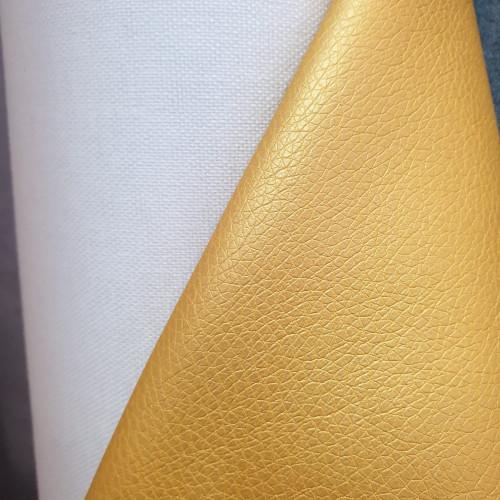 """Hilco Kunstleder """"Leather Brilliant"""" Gelb"""