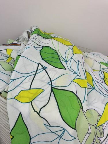 Burda Style 04/2021 Viskose Crepe Blättermuster