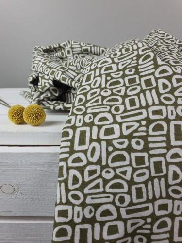 Cotton and Steel Baumwollstoff Feel The Void Contour - Greenbrook Fabric