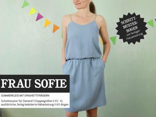 Studio Schnittreif Schnittmuster FRAU SOFIE Kleid Spaghettiträger