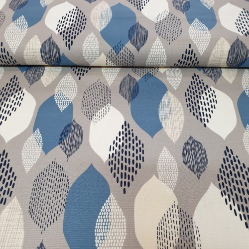 Cloud 9 fabrics: Canvas Ground Cover Modern Abstractions by Eloise Renouf