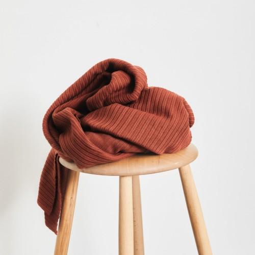 Mind The Maker Organic Selanik Knit Strick Sienna