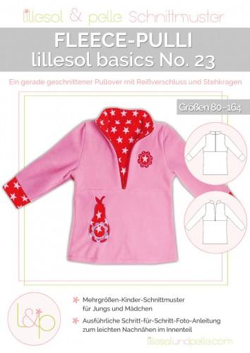 Lillesol & Pelle Schnittmuster basics No.23 Fleece-Pulli