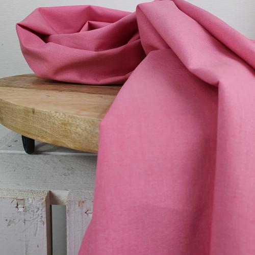 Westfalenstoffe Baumwollstoff Pink Uni