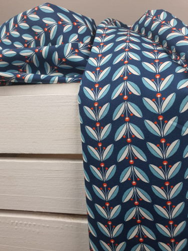 Art Gallery Fabrics Bio Baumwollstoff Lingonberries