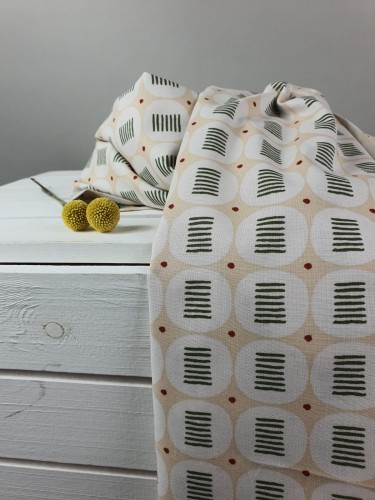 Cotton and Steel Baumwollstoff Feel The Void Effortless - Bashful Fabric