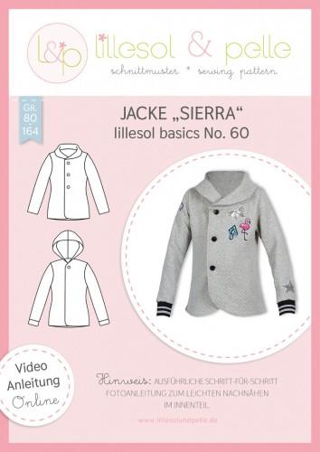 Lillesol & Pelle Schnittmuster basics No.60 Jacke Sierra *mit Video-Anleitung*