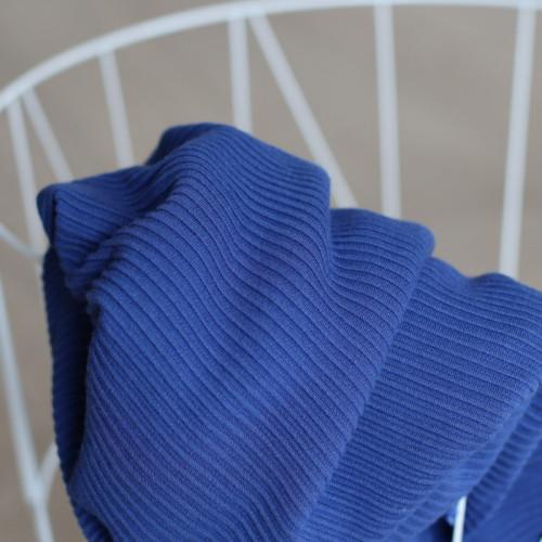 Meet Milk Self Stripe Ottoman Knit Lapis