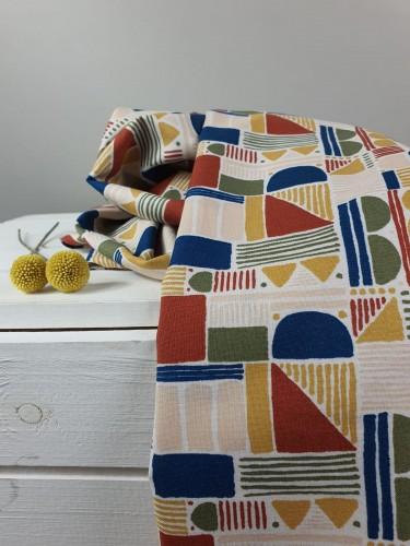 Cotton and Steel Baumwollstoff Feel The Void Shape Study - Horizon Fabric