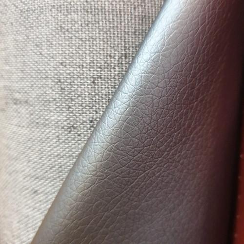 "Hilco Kunstleder ""Leather Brilliant"" Grau"