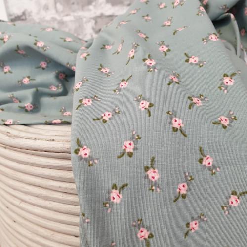 Stenzo Jersey Blumen Print Grün