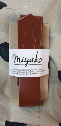 Westfalenstoffe Miyako Leder Trageriemen Dunkelbraun