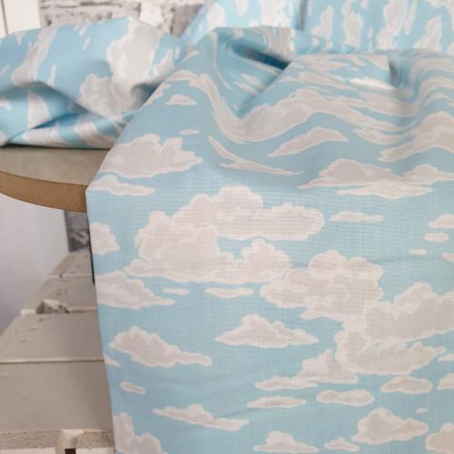 Makower Baumwollstoff Sea Breeze Sky
