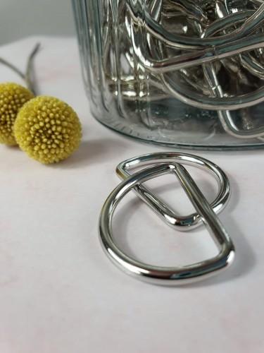 D-Ring Silber 25/30/40 mm