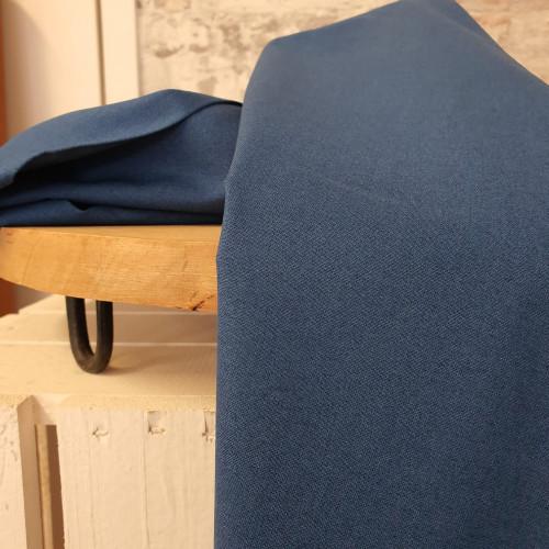 Westfalenstoffe Baumwollstoff Druckstoff Uni Jeansblau