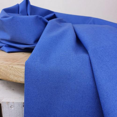 Westfalenstoffe Baumwollstoff Royalblau Uni
