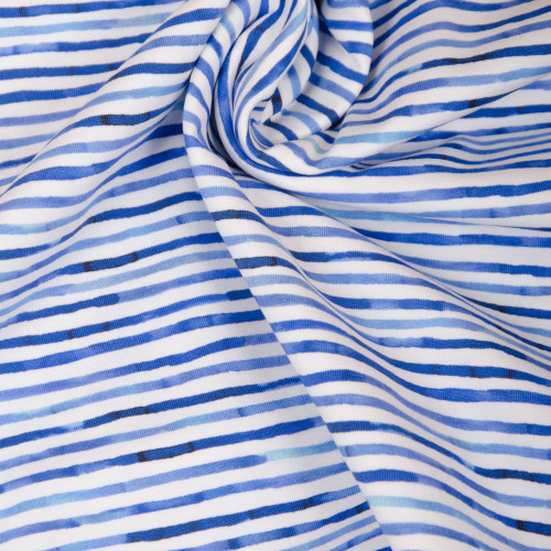 Hilco Jersey Neptunus Blau Weiß Gestreift