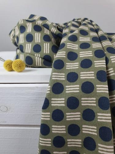 Cotton and Steel Baumwollstoff Feel The Void Atomic - Hidden Falls Fabric