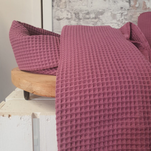 Hilco Waffelstoff Weich Pink