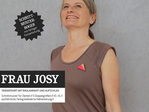 Studio Schnittreif Schnittmuster FRAU JOSY Trägershirt
