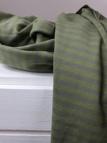 Lillestoff Jersey Ringel Jägergrün