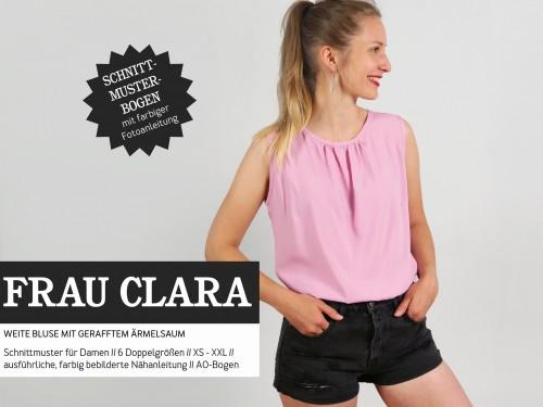 Studio Schnittreif Schnittmuster FRAU CLARA ärmellose Bluse