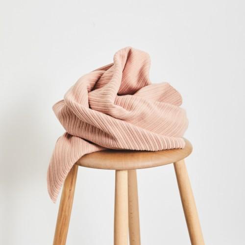 Mind The Maker Organic Selanik Knit Strick Rose