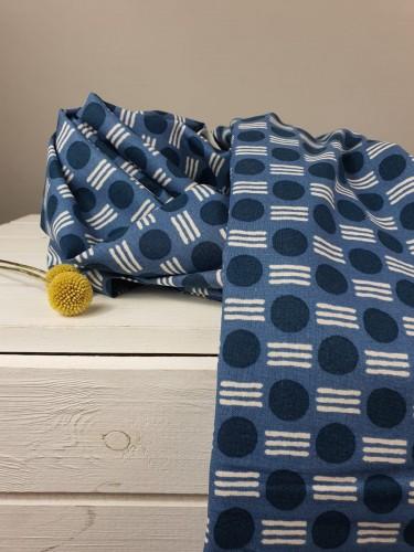 Cotton and Steel Baumwollstoff Feel The Void Atomic - Kensington Fabric