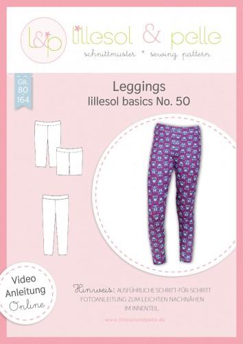 Lillesol & Pelle Schnittmuster women No.50 Leggings * mit Video-Nähanleitung *