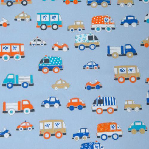 Hilco Baumwollstoff Baby Cars