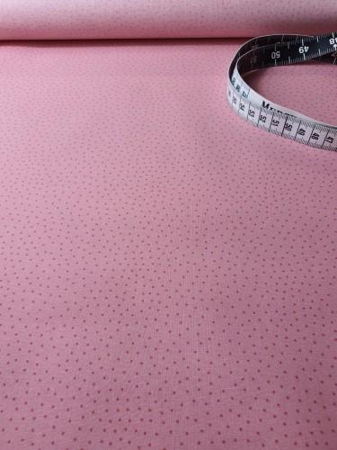 Westfalenstoffe Beschichtete Baumwolle Rosa Punkte