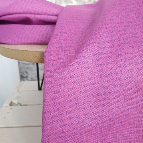 Makower Baumwollstoff Alison Glass pink