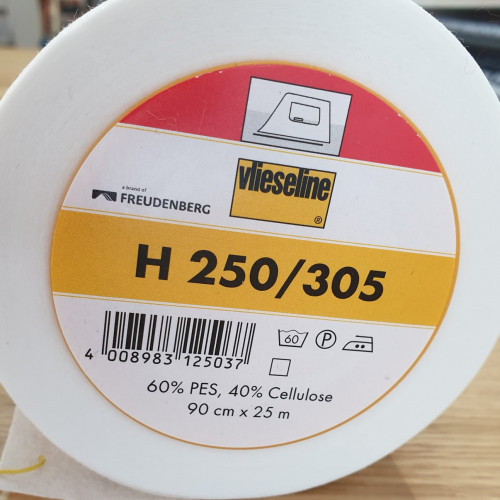 Vlieseline Bügeleinlage H 250 / 305 Weiß