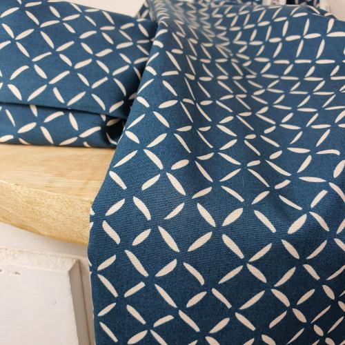 Art Gallery Fabrics Premium Baumwollstoff Everlasting Petrolgrün