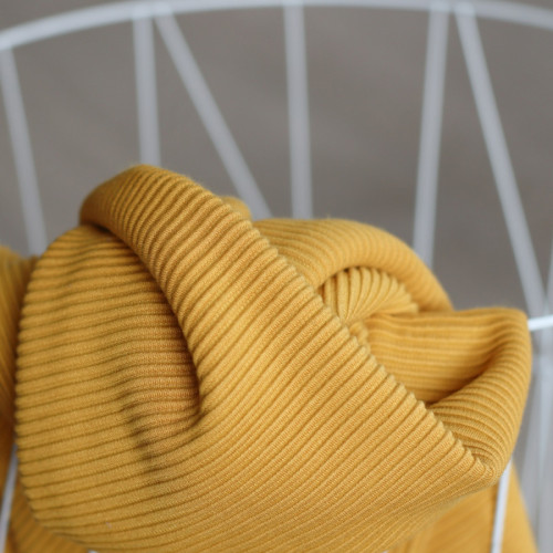 Meet Milk Self Stripe Ottoman Knit Amber
