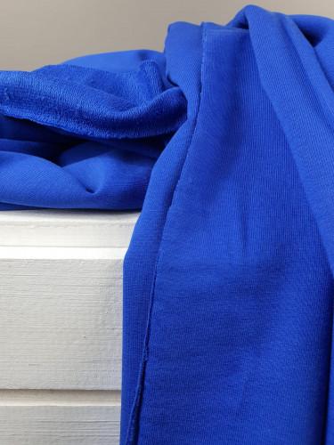 French Terry Royal Blau