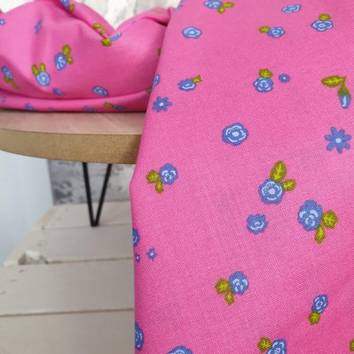 Makower Baumwollstoff Alison Glass Daydream pink