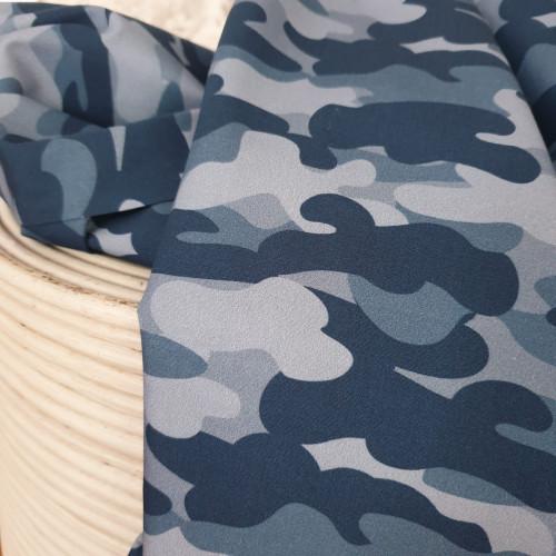 Hilco Baumwollstoff Popeline Stay Healthy Camouflage