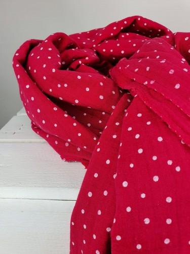 Hilco Musselin Double Gauze Pink