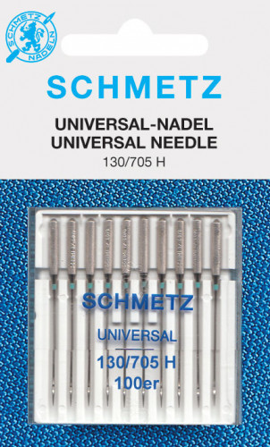 Schmetz Nähmaschinennadeln 130/705 H Universal 100