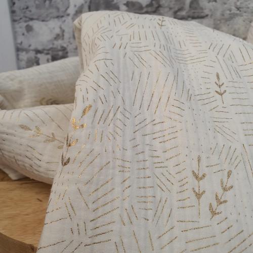 Katia Musselin Wheat Field Creme Gold