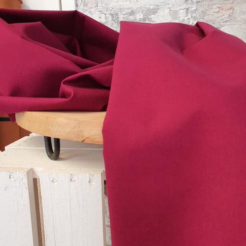 Westfalenstoffe Baumwollstoff Druckstoff Bordeaux Violett