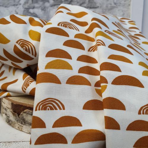 Art Gallery Fabrics Baumwollstoff Regenbogen