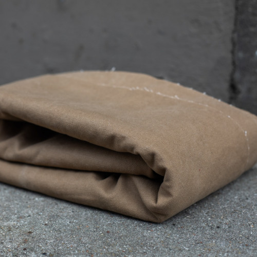 Mind The Maker Heavy Washed Canvas Brown Khaki