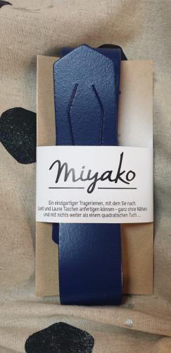 Westfalenstoffe Miyako Leder Trageriemen Blau