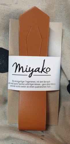 Westfalenstoffe Miyako Leder Trageriemen Mittelbraun